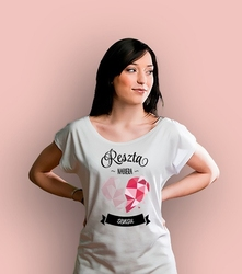 Wyprzedaż - reszta nabiera sensu t-shirt damski biały s