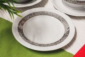 Krzysztof fryderyka s-10753 serwis obiadowy 4412 platyna