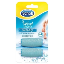 Scholl scholl pilnik do stóp elektryczny velvet smooth 2 rolki silnie ścierające