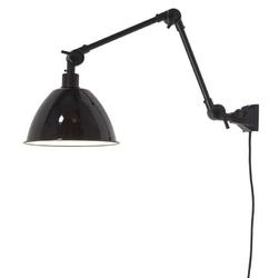 Its about romi :: lampa ścienna metalowa amsterdam m czarna