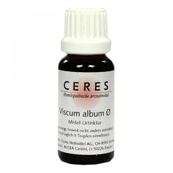Ceres viscum album urtinktur