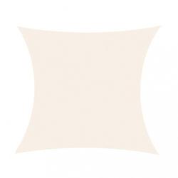 Żagiel przeciwsłoneczny parason daszek 3,6 x 3,6 m biały