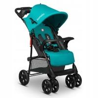 Lionelo emma plus vividturquoise wózek składany na płasko + torba