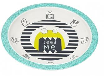 GRANAT talerzyk z melaminy Little Monster