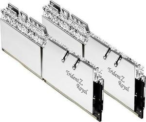 G.SKILL Pamięć do PC DDR4 16GB 2x8GB TridentZ Royal RGB DDR4  3200MHz CL14-14-14 XMP2 srebrna