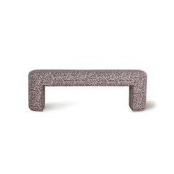 Hkliving :: ławka z kwiatowym nadrukiem 140x40x45cm