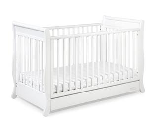 Łóżeczko dziecięce romantica 140x70 troll nursery k. biały