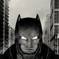 Batman v superman battle suit - plakat