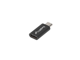 Lanberg adapter usb cf - micro usb bm 2.0 czarny