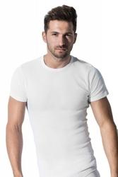 Rossli mtp-001 biały koszulka męska