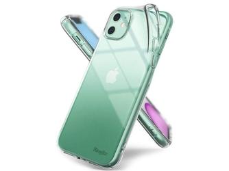 Etui ringke air do apple iphone 11 clear + szkło alogy - przezroczysty