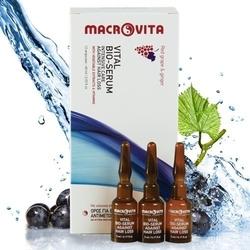 Macrovita intensywna kuracja przeciw wypadaniu włosów z bio-winogronami i imbirem 60ml 12 ampułek