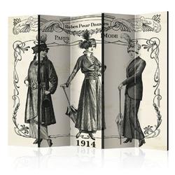 Parawan 5-częściowy - dress 1914 ii parawan