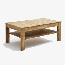 Drewniana dębowa ława fabian  104x62 cm