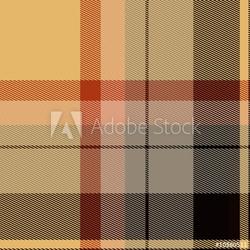 Plakat na papierze fotorealistycznym szkocką kratę szkocką kratę materiał wzór tekstury