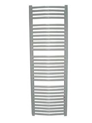 Grzejnik łazienkowy wetherby - elektryczny, wykończenie zaokrąglone, 600x1200, białyral - biały