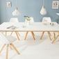 Interior space :: stół scandinavia biały 200cm
