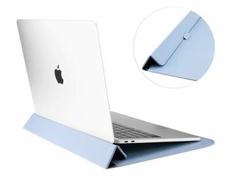 Etui teczka Alogy Sleeve do Macbook Air  Pro  Retina 13.3 Niebieskie - Niebieski