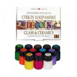 Zestaw farb do ceramiki szkła metalu 12x20ml