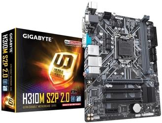 Gigabyte płyta główna h310m s2p 2.0 s1151 2ddr4 hdmidvid-sub uatx