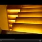17 schodów - zestaw do oświetlenia schodów szerokość oświetlenia 45 cm
