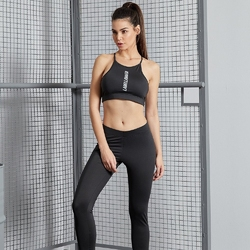 Zestaw fitness labellamafia fitness set black