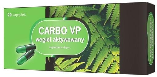 Carbo vp węgiel aktywowany x 20 kapsułek