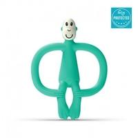 Matchstick monkey mint green gryzak masujący ze szczoteczką