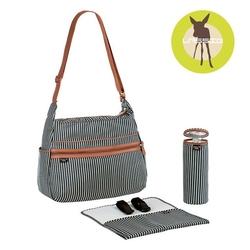 Lassig marv torba z akcesoriami urban bag pinstripe anthracite