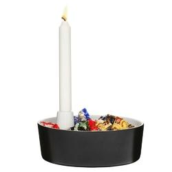 Sagaform - winter - misa do serwowania, ze świecznikiem