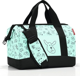 Torba Allrounder M Cats and Dogs miętowa