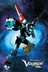 Voltron Legendary Defender - plakat