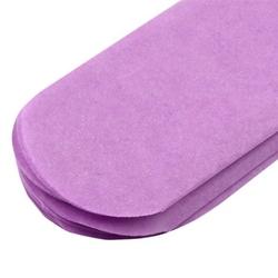 Papierowy pompon 15 cm - fioletowy - fio