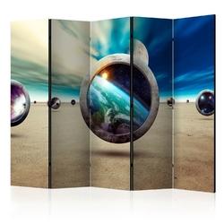 Parawan 5-częściowy - spacer planet room dividers