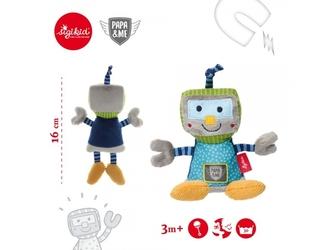 Robot pluszowa grzechotka przytulanka papame