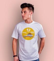 Auto jak to daleko t-shirt męski biały xxl