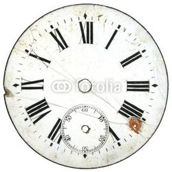 Obraz na płótnie canvas czteroczęściowy tetraptyk rocznik tarczy zegarka 5
