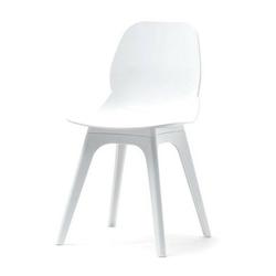 Krzesło na taras meti białe nowoczesne
