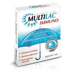 Multilac immuno x 7 kapsułek