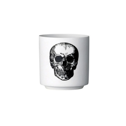 Świecznik na tealight czaszka bloomingville