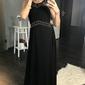 Eva  lola sukienka czarny 44003-3
