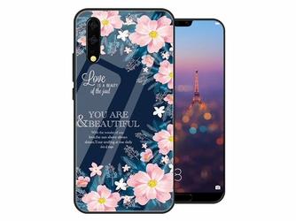 Etui Alogy Glass Armor Case do do Huawei P20 Pro Kwiaty - Kwiaty