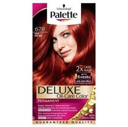 Palette, deluxe, farba do włosów, 678 rubin