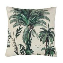 Hk living :: poduszka palmowa zielona