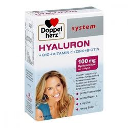Doppelherz hyaluron system kapsułki z kwasem hialuronowym
