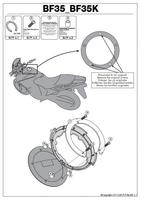 Givi bf35 mocowanie tanklock kawasaki ninja h2 sx