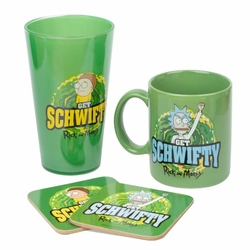 Rick and Morty Get Schwifty - gift box