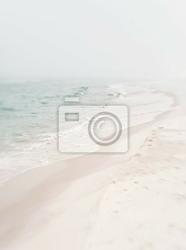 Fototapeta miękkie foggy seashore