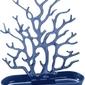 Stojak na biżuterię cora welwetowy błękit