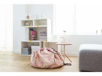 Różowe słonie worek na zabawki